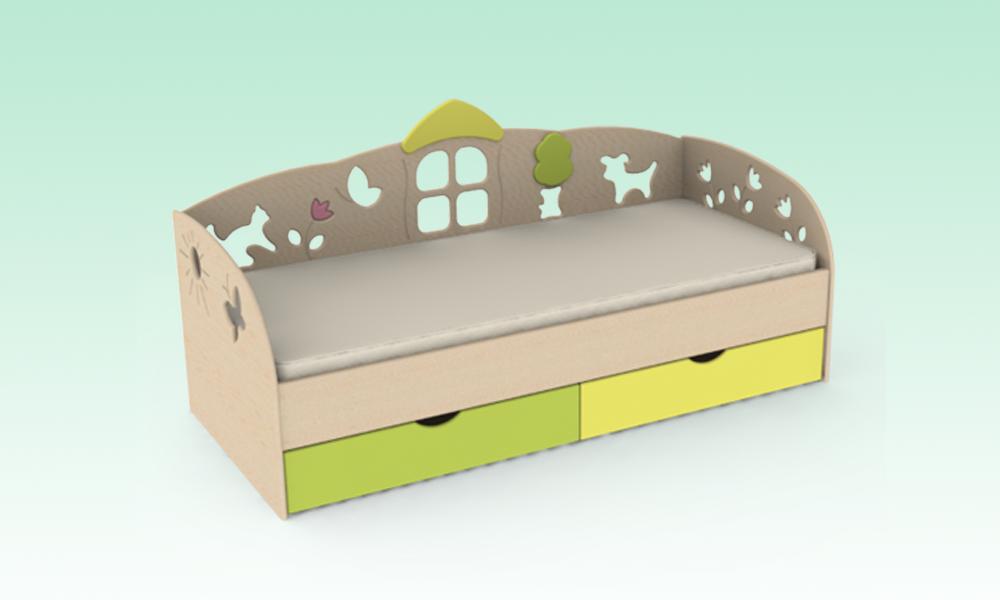 Кровать (Лесная)