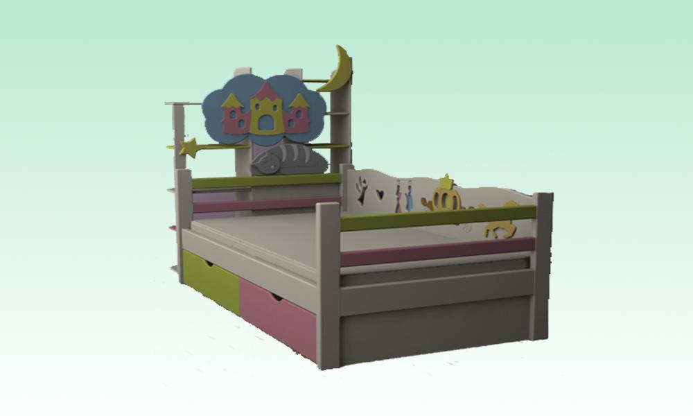 Кровать (Золушка)